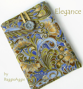 Floral Handmade KIndle Case, Kobo Touch Pouch, NOOK Glowlight Simple Touch Cover, women, blue, green,UK, baggieaggie.com,